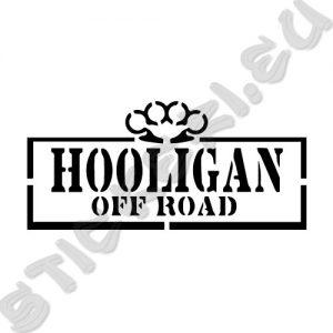 Стикер Off Road Hooligan